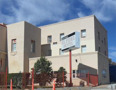 Historic El Fidel Hotel Las Vegas Nm